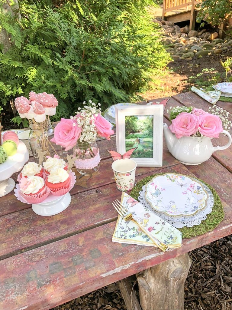 Tea Party Birthday Decoration Ideas New Fairy Garden Tea Party Ideas for Girls Fairy Birthday Party