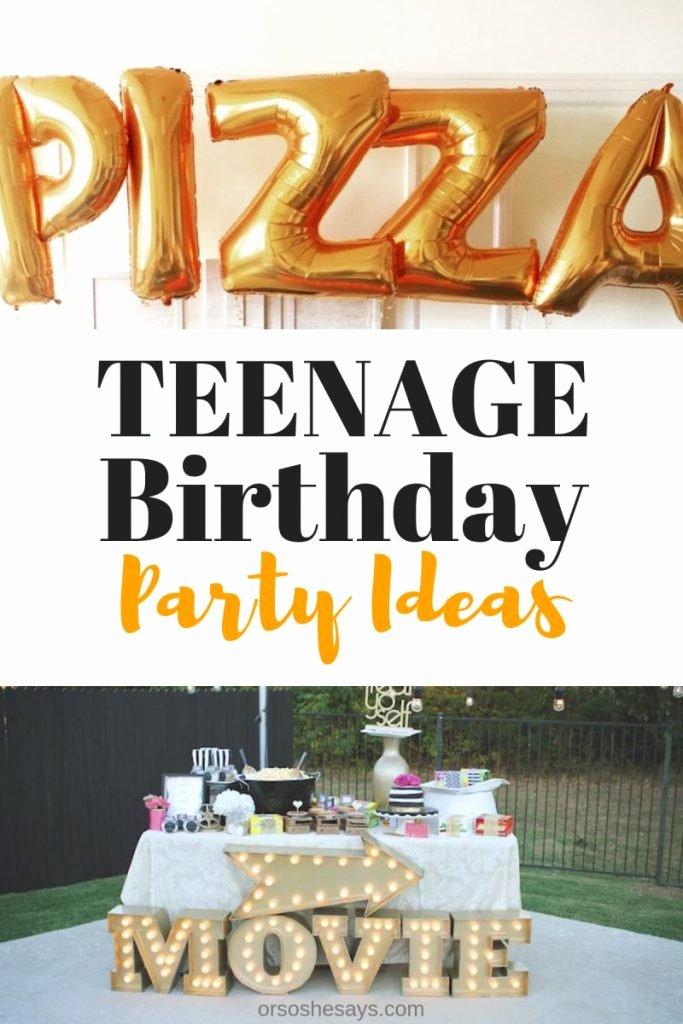 Teenage Birthday Decoration Ideas Elegant 16 Teenage Birthday Party Ideas Be the Cool Parent On the