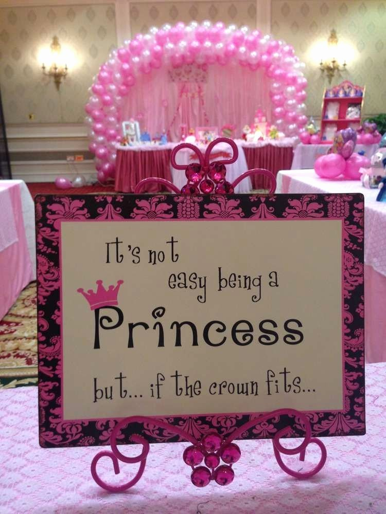 Theme Birthday Decoration Ideas Awesome Princess theme Birthday Party Ideas Birthday Decoration