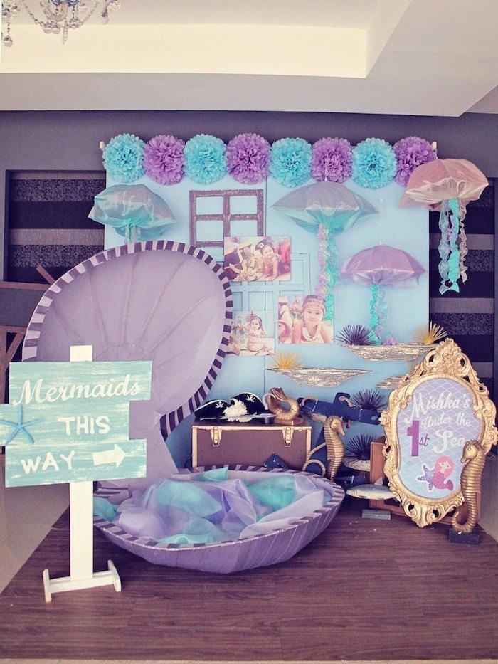 Theme Birthday Decoration Ideas Fresh Mermaid Vs Pirates themed Birthday Party Planning Ideas