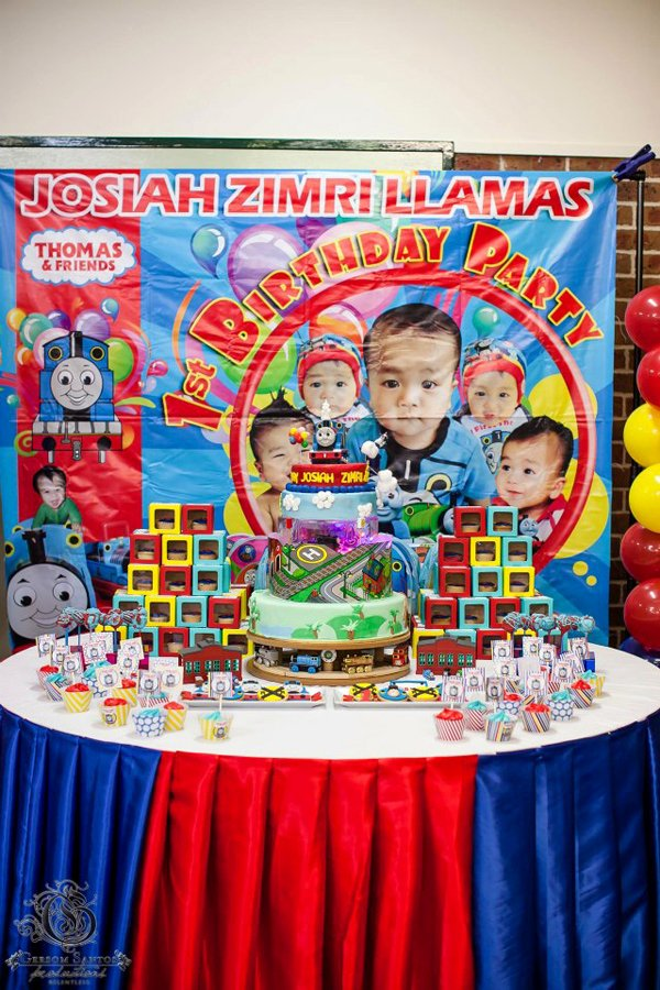 Thomas Train Birthday Decoration Ideas Beautiful Kara S Party Ideas Thomas the Train Birthday Party Planning