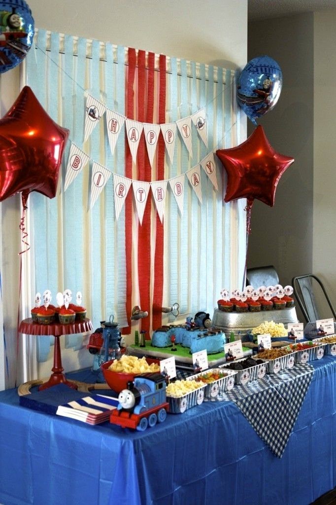 Thomas Train Birthday Decoration Ideas Best Of Thomas the Train Birthday Party