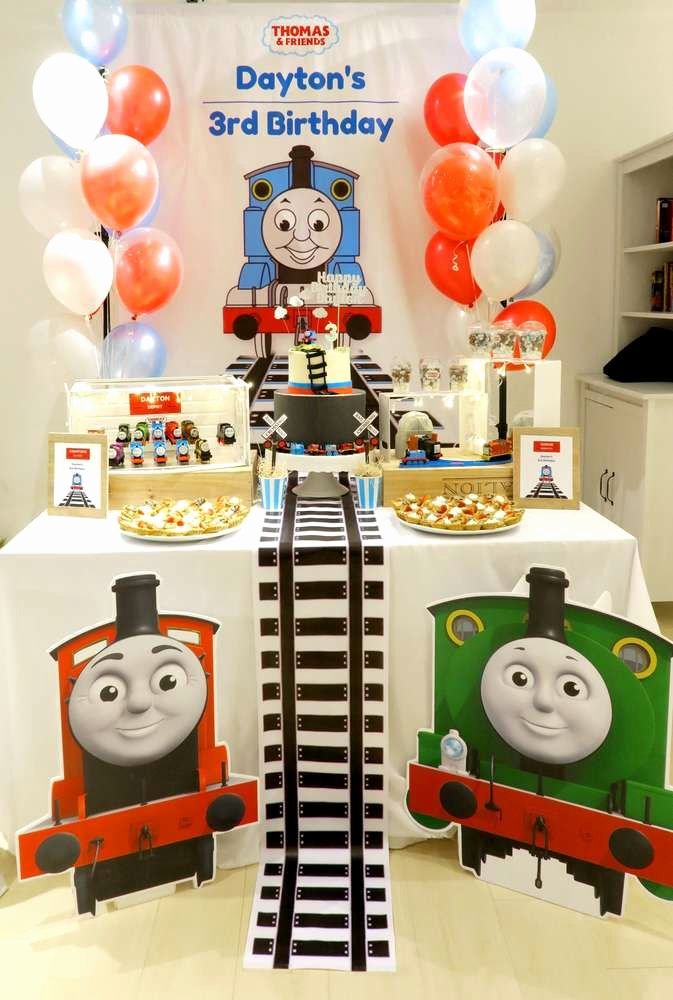 Thomas Train Birthday Decoration Ideas Lovely Thomas & Friends Birthday Party Ideas