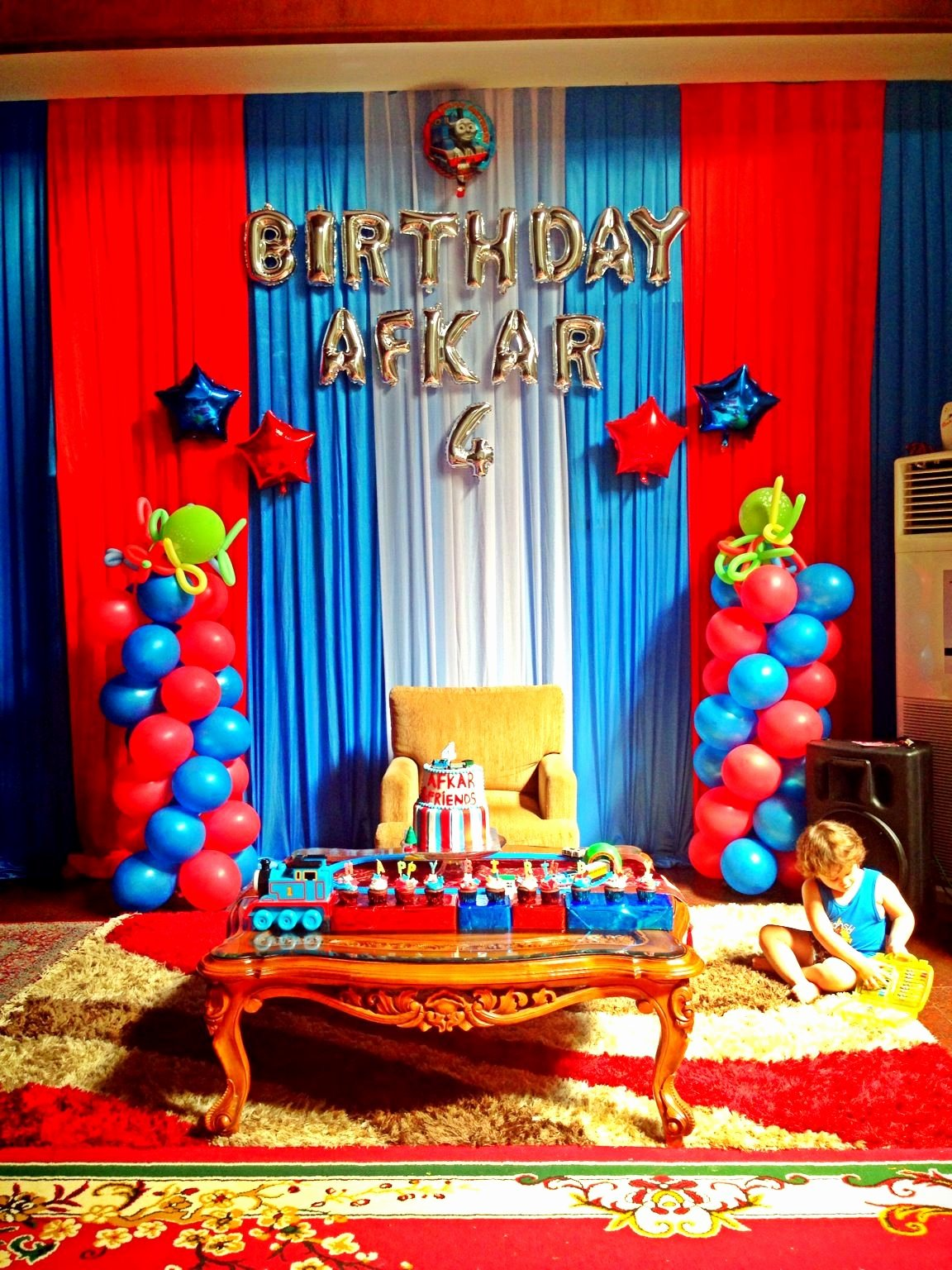 Thomas Train Birthday Decoration Ideas New Thomas and Friends Birthday Party Birthday Afkar 4th