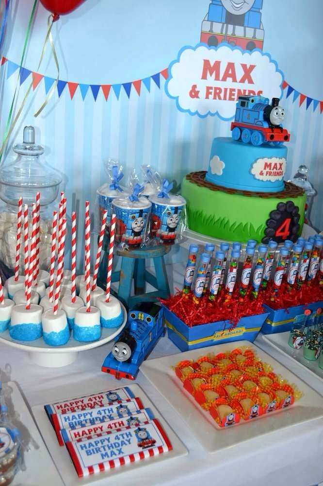 Thomas Train Birthday Decoration Ideas Unique Thomas the Train Birthday Party Ideas