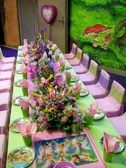 Tinkerbell Birthday Decoration Ideas Best Of Disney Tinker Bell themed Birthday Party Celebration Idea