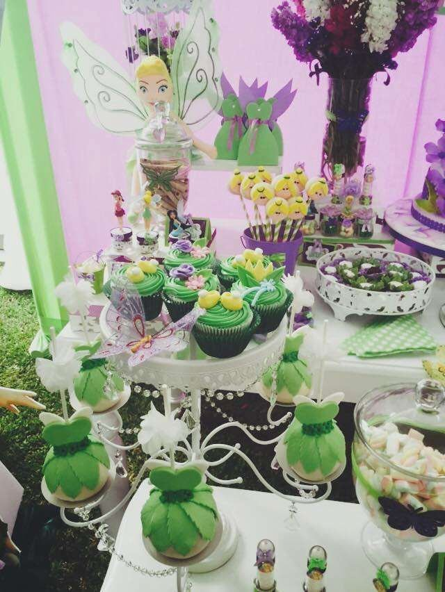 Tinkerbell Birthday Decoration Ideas Fresh Tinkerbell Birthday Party Ideas 3 Of 8