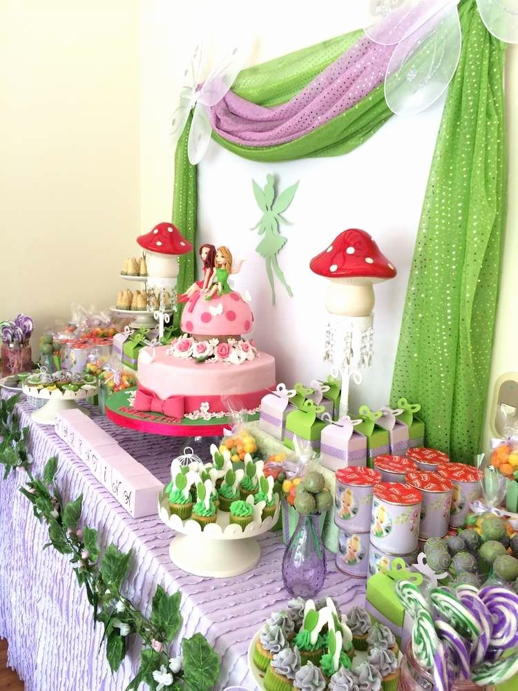 Tinkerbell Birthday Decoration Ideas Inspirational Tinkerbell Birthday Party Ideas