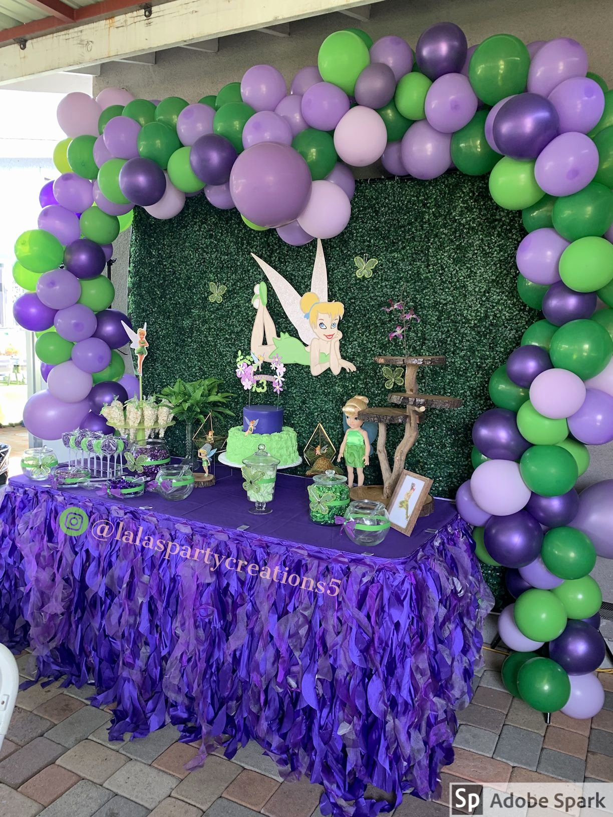 Tinkerbell Birthday Decoration Ideas Luxury Tinkerbell Party