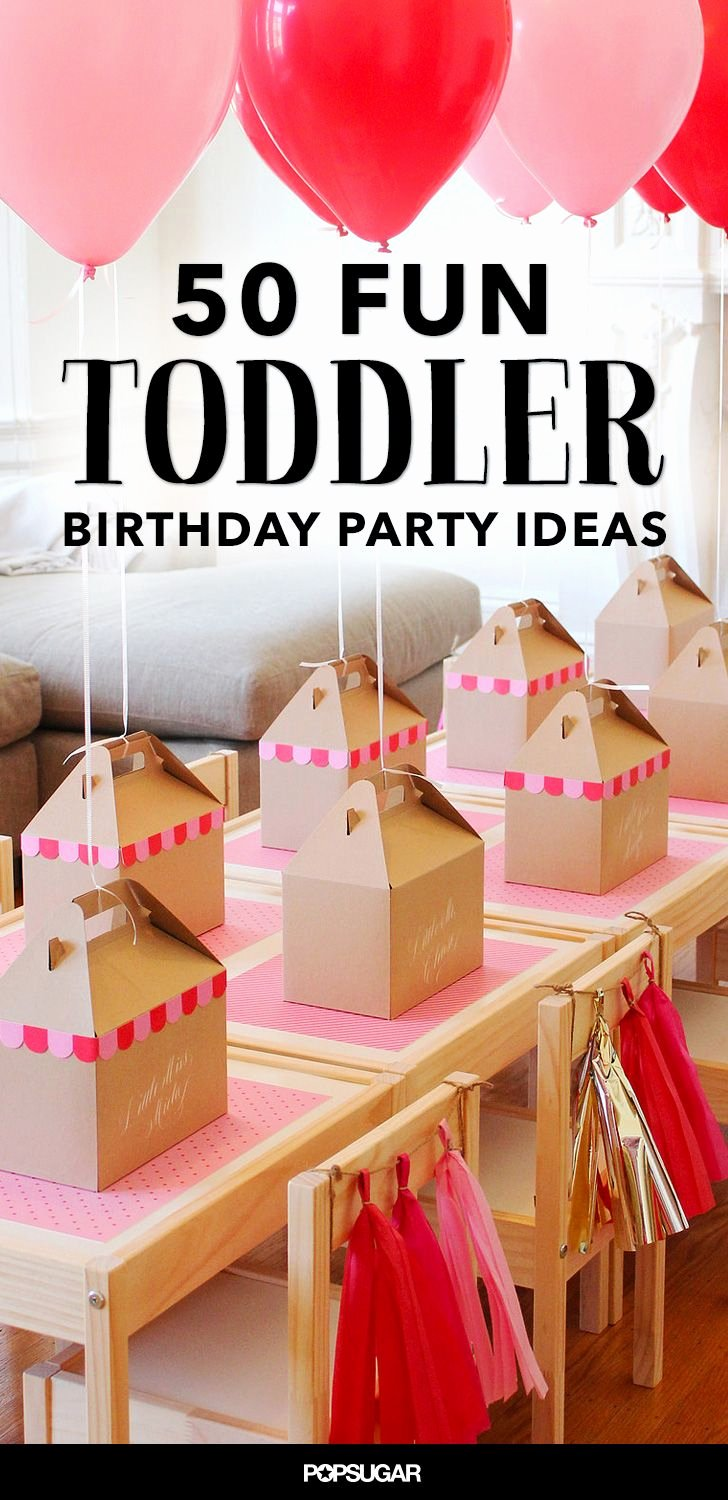 Toddler Birthday Decoration Ideas Luxury 68 Fun Ways to Fete Your Terrific toddler