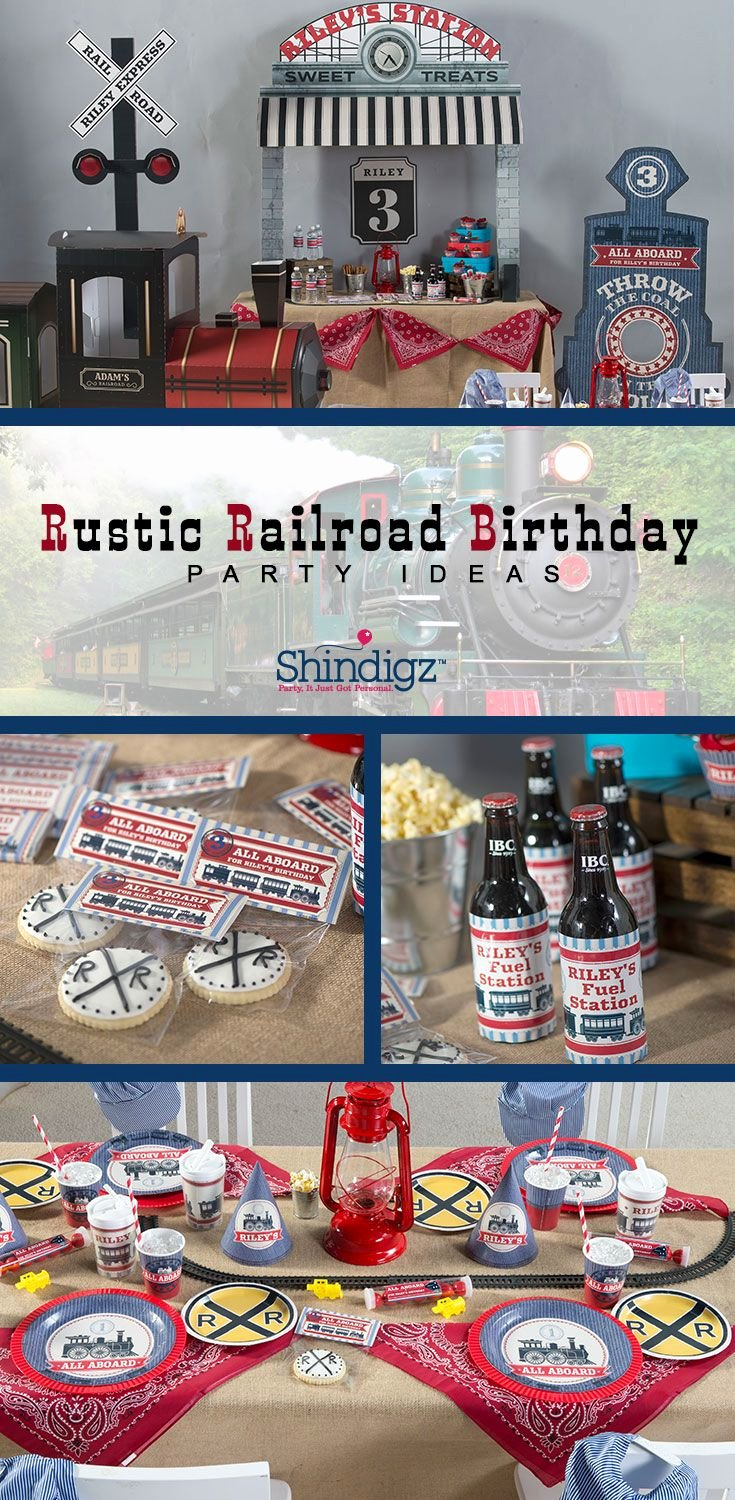 Train Birthday Decoration Ideas Best Of All Aboard for A Fun Train themed Birthday Party Our New