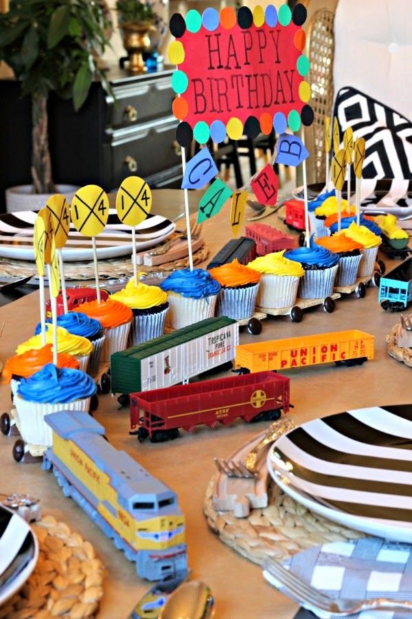 Train Birthday Decoration Ideas Inspirational Train Birthday Party