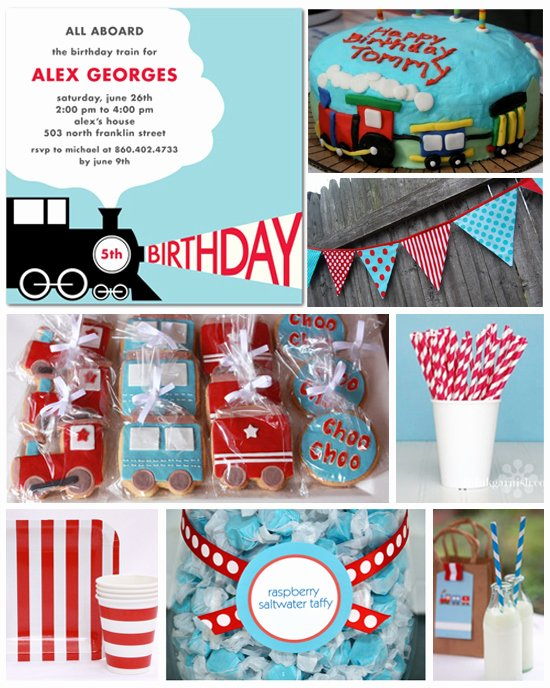 Train Birthday Decoration Ideas Inspirational Train theme Party Planning Ideas & Supplies
