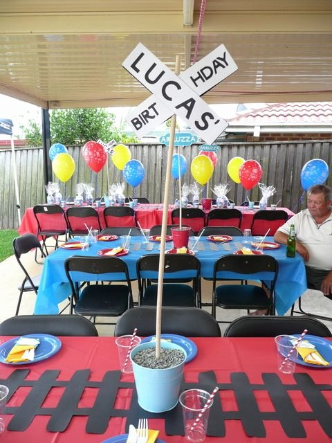 Train Birthday Decoration Ideas Luxury Thomas the Train Birthday Party Ideas