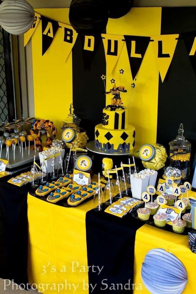 Transformers Birthday Decoration Ideas Awesome Birthday Party Ideas