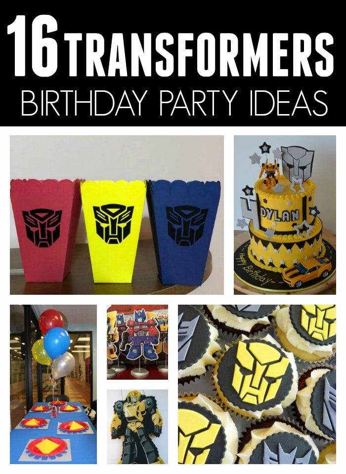 Transformers Birthday Decoration Ideas Best Of 16 Cool Transformers Birthday Party Ideas Pretty My Party