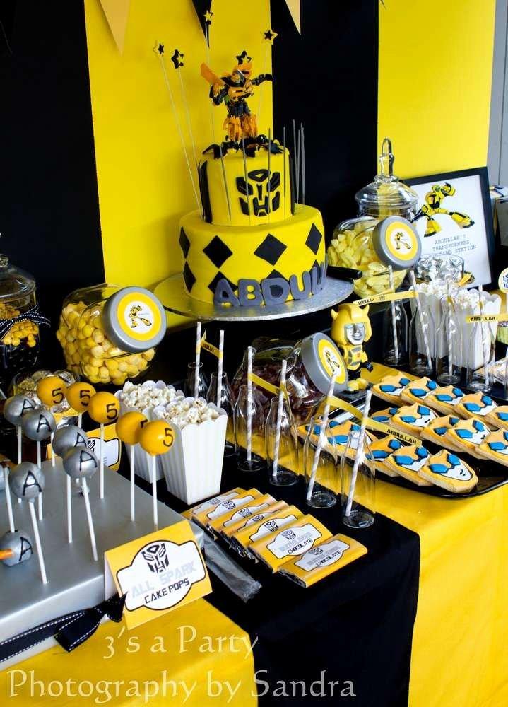 Transformers Birthday Decoration Ideas Elegant Birthday Party Ideas 2 Of 38