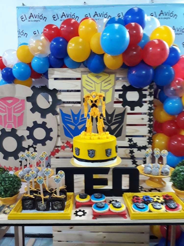 Transformers Birthday Decoration Ideas New Transformers Birthday Party Ideas 1 Of 22