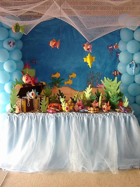 Under the Sea Birthday Decoration Ideas Awesome Under the Sea Party