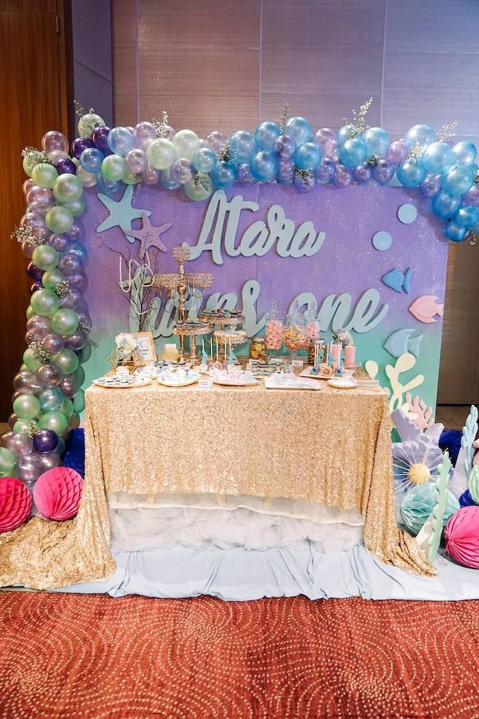 Under the Sea Birthday Decoration Ideas Best Of Kara S Party Ideas Under the Sea Birthday Party