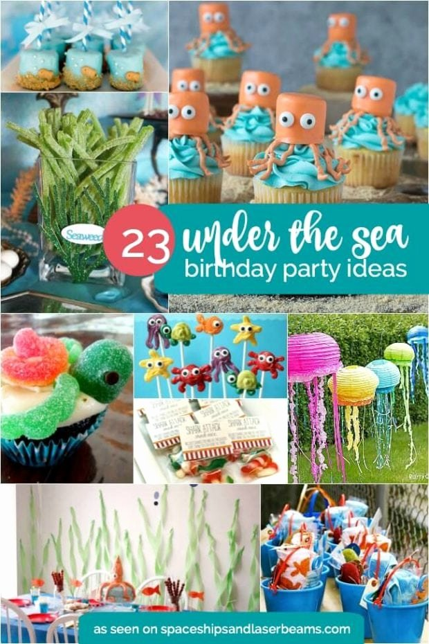 Under the Sea Birthday Decoration Ideas Luxury 23 Enchanting Under the Sea Party Ideas Spaceships and