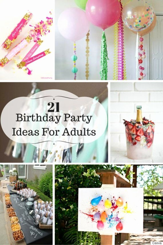 Unique Birthday Decoration Ideas for Adults Inspirational 21 Ideas for Adult Birthday Parties