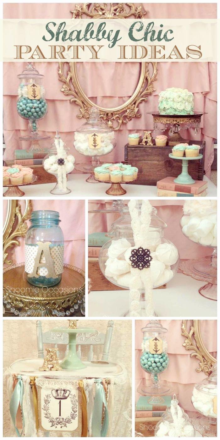 "Vintage Birthday Decoration Ideas Luxury Vintage Chic Birthday ""avery S Vintage First Birthday"