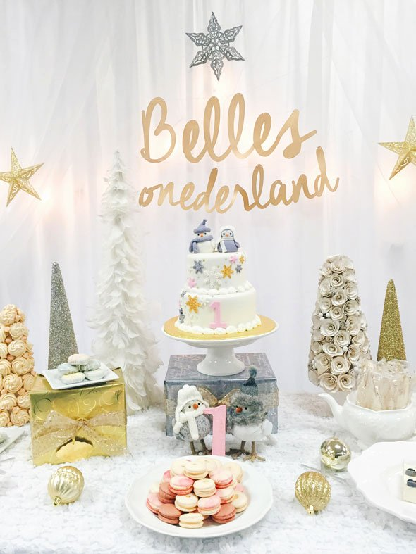Winter Wonderland Birthday Decoration Ideas Awesome 29 Winter Wonderland Birthday Party Ideas Pretty My Party