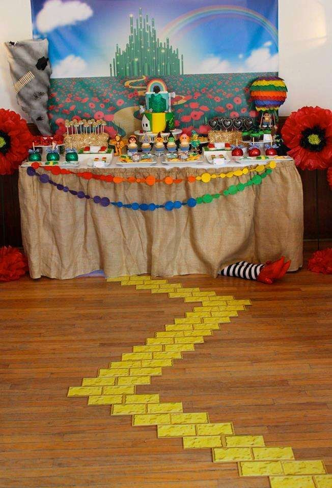Wizard Of Oz Birthday Decoration Ideas Awesome Wizard Of Oz Baby Shower Party Ideas