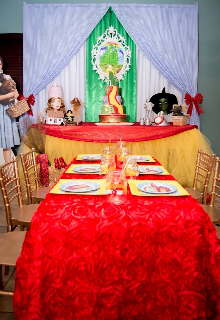 Wizard Of Oz Birthday Decoration Ideas Elegant Kara S Party Ideas Special Wizard Of Oz Birthday Party