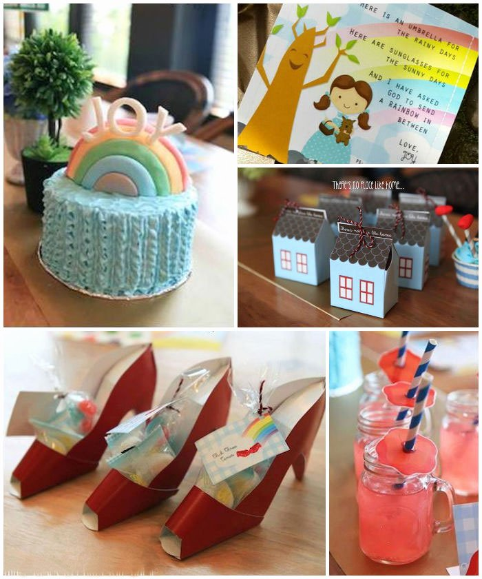 Wizard Of Oz Birthday Decoration Ideas Fresh Kara S Party Ideas Over the Rainbow Wizard Oz themed
