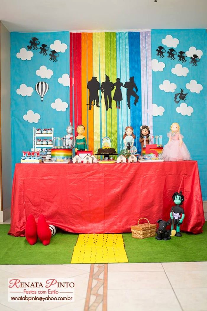 Wizard Of Oz Birthday Decoration Ideas Luxury Dorothy and Wizard Of Oz Birthday Party