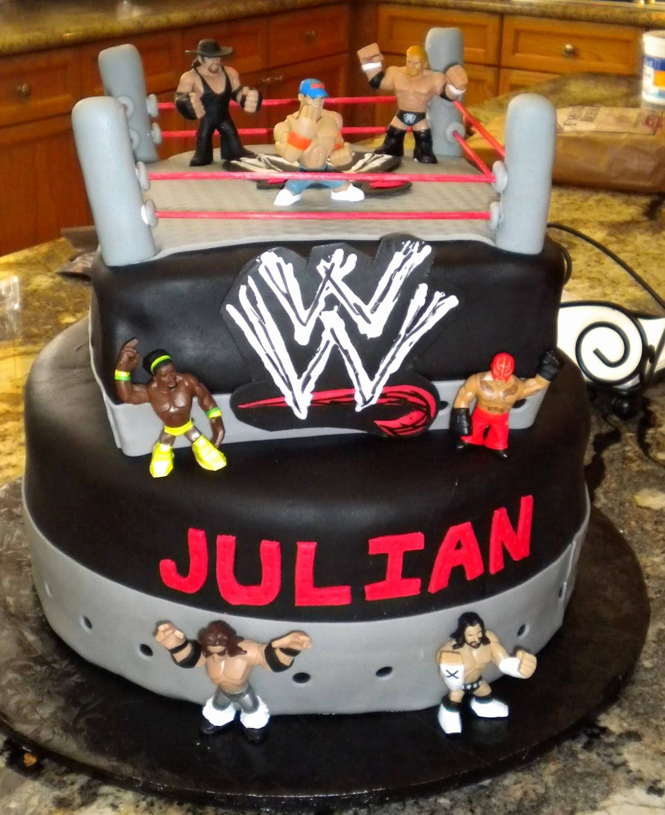 Wwe Birthday Decoration Ideas Inspirational Wwe Cakes – Decoration Ideas