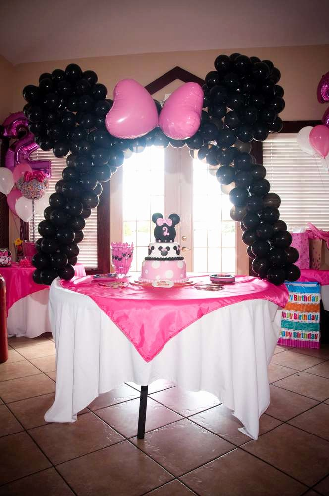 Zebra Birthday Decoration Ideas Best Of Minnie Mouse and Zebra Print Birthday Party Ideas