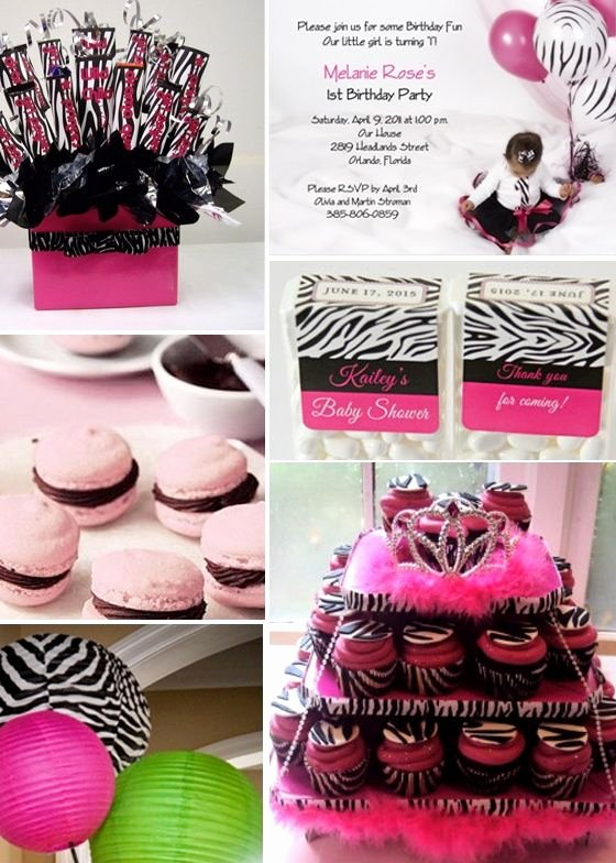 Zebra Birthday Decoration Ideas Best Of Pink and Zebra Print Birthday